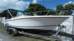 Used Stratos 2100 DC Cruiser Boat For Sale