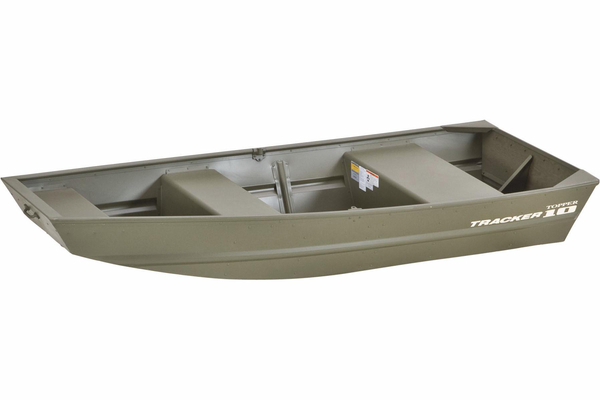 New Tracker Topper 1036W Riveted Jon Utility Boat For Sale