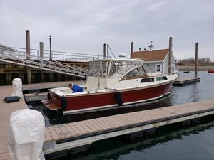 Used Fortier 33 Express Downeast Fishing Boat For Sale