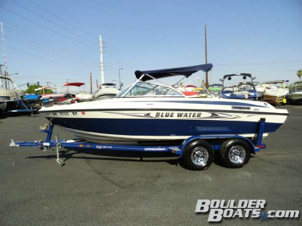 Used Blue Water Venture Ski and Fish Boat For Sale