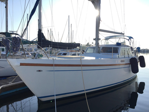 Used Columbia 45 Deck Saloon Sailboat For Sale