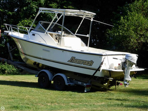Used Shamrock 220 Walkaround Fishing Boat For Sale