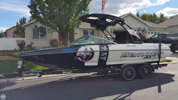 Used Sanger V237 LTZ Ski and Wakeboard Boat For Sale