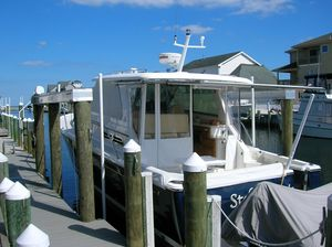 Used Back Cove 34 Express Cruiser Boat For Sale