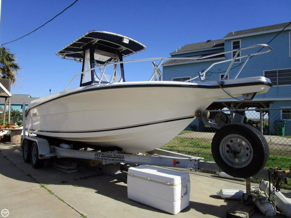2000 used angler 2100 cc center console fishing boat for for Stock fish for sale texas