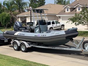 Used Zodiac 650 Rigid Sports Inflatable Boat For Sale