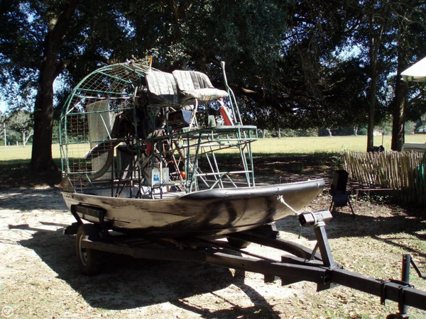 Used Homebuilt 12 Air Boat For Sale