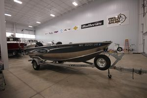 Used Hewescraft 180 Open Fisherman Freshwater Fishing Boat For Sale