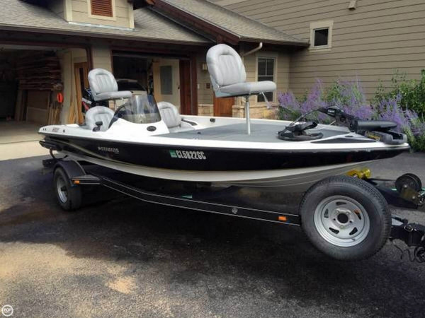 Used Stratos 176XT Bass Boat For Sale