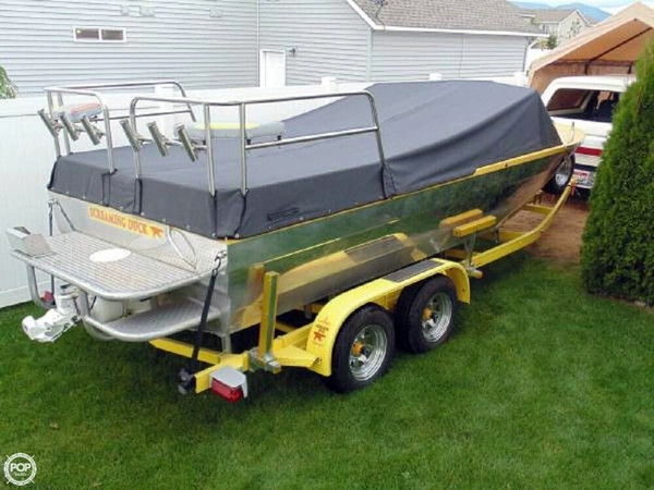 Used Duckworth Advantage 21 Custom Aluminum Fishing Boat For Sale