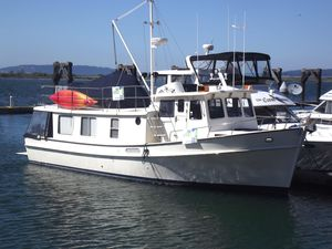 Used Pacific Trawler 40 Pilothouse Trawler Boat For Sale