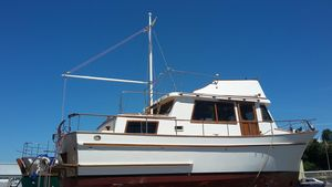 Used North Sea Boats 35 Trawler Boat For Sale