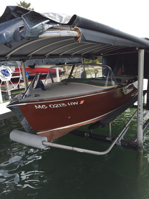 Used Century Resorter Tender Boat For Sale