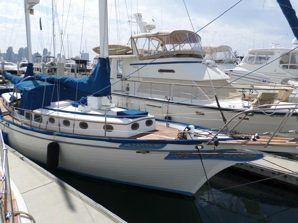 Used Brewer Ketch 45 Cruiser Sailboat For Sale