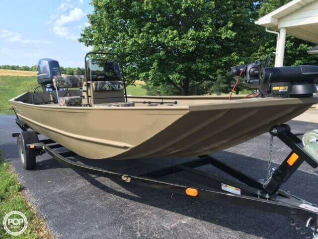2014 used g3 gator tough 1860 aluminum fishing boat for for G3 fishing boats