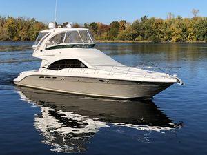 Used Sea Ray 52 Sedan Bridge Convertible Fishing Boat For Sale