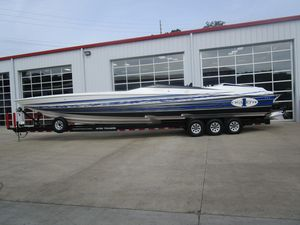 Used Cigarette 42' X High Performance Boat For Sale