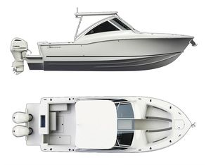 New Albemarle 31 Dual Console Cruiser Boat For Sale