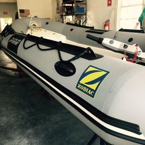 Used Zodiac Pro 15 Man Tender Boat For Sale