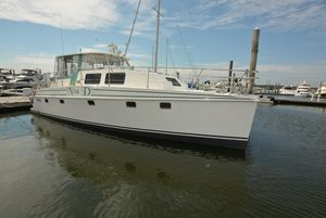 Used Endeavour Catamaran 44 Trawler Cat Power Catamaran Boat For Sale