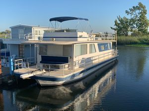 Used Gibson Executive Houseboat House Boat For Sale