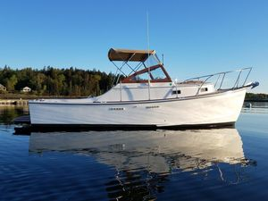 Used Cape Dory Open Fisherman Downeast Fishing Boat For Sale