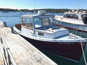 Used T. Jason Lobster Pleasure Downeast Fishing Boat For Sale