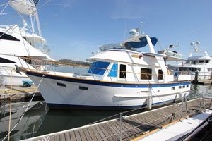 Used Defever Long Range Trawler Cruiser Boat For Sale