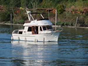 Used Chb Double Cabin Trawler Boat For Sale