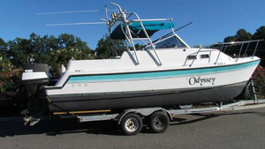 Used Glacier Bay 252 Cuddy Aft Cabin Boat For Sale