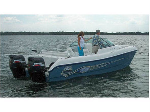 Used Sea Cat 226 DC Sport Fisherman Power Catamaran Boat For Sale