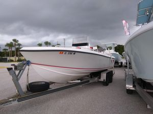 Used Bluewater Sportfishing 2150 Center Console Fishing Boat For Sale