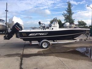 Used Epic 22 Sport Console Saltwater Fishing Boat For Sale