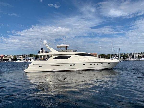 Used Ferretti Yachts 731 Motor Yacht For Sale