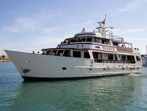 Used Adams Custom Built Charter Yacht Commercial Boat For Sale