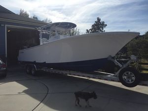 Used Onslow Bay 33TE Center Console Fishing Boat For Sale