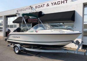 Used Bayliner Trophy 1700 Bowrider Freshwater Fishing Boat For Sale
