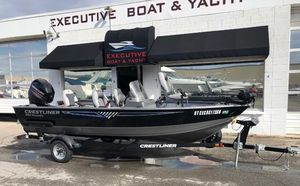 Used Crestliner 1650 Discovery SC Freshwater Fishing Boat For Sale