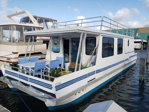 Used Catamaran Cruisers Vagabond Cruiser House Boat For Sale