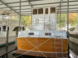 Used Island Gypsy Flush Aft Deck Troller Fishing Boat For Sale