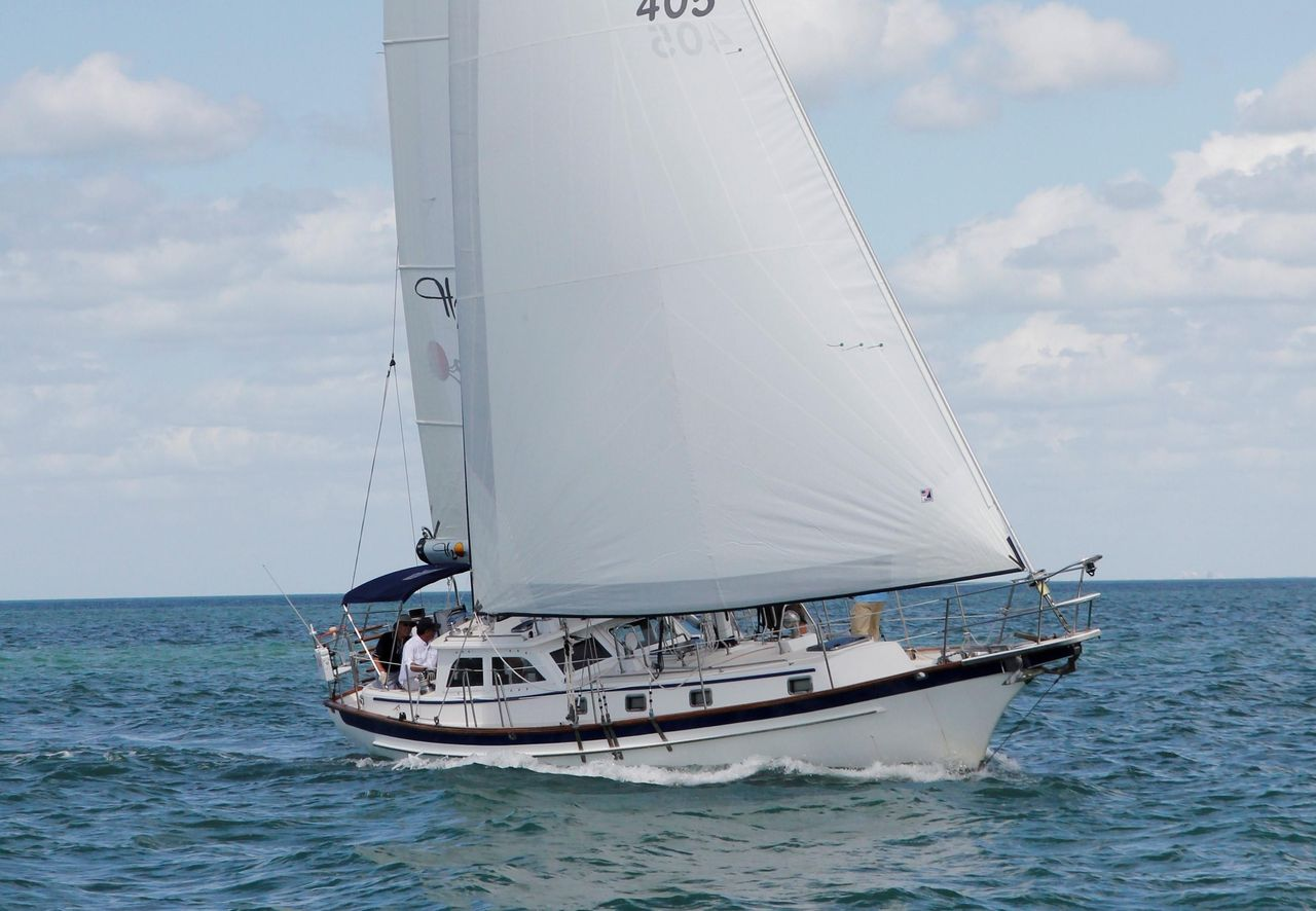 2005 Used Cabo Rico 42 Pilothouse Sailboat For Sale