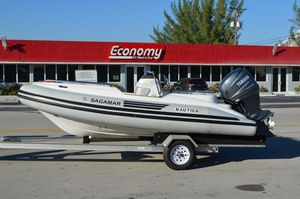 Used Novurania 460dl Rigid Sports Inflatable Boat For Sale