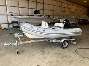 Used Zodiac Bayrunner 340 Rigid Sports Inflatable Boat For Sale