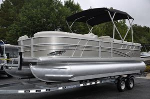 Used Silver Wave 230 Island Pontoon Boat For Sale