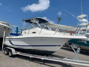 Used Cobia 220 Walkaround Center Console Fishing Boat For Sale