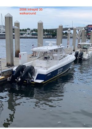Used Intrepid 35 Cuddy Center Console Fishing Boat For Sale