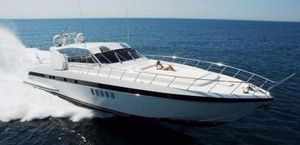 Used Mangusta 80 Open Sports Cruiser Boat For Sale