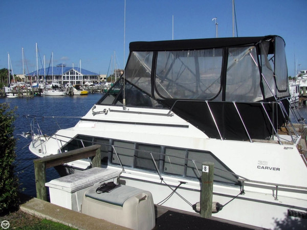 Used Carver 3396 Mariner Sedan Aft Cabin Boat For Sale