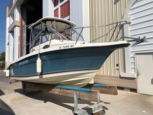 Used Century 2200 Walkaround Center Console Fishing Boat For Sale