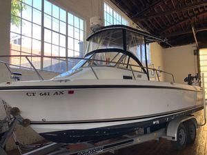 Used Shamrock 219 Walkaround Center Console Fishing Boat For Sale